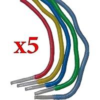 5 PCS Disposable Healthy Medical Washable Hookah Shisha Nargila Plastic Hose