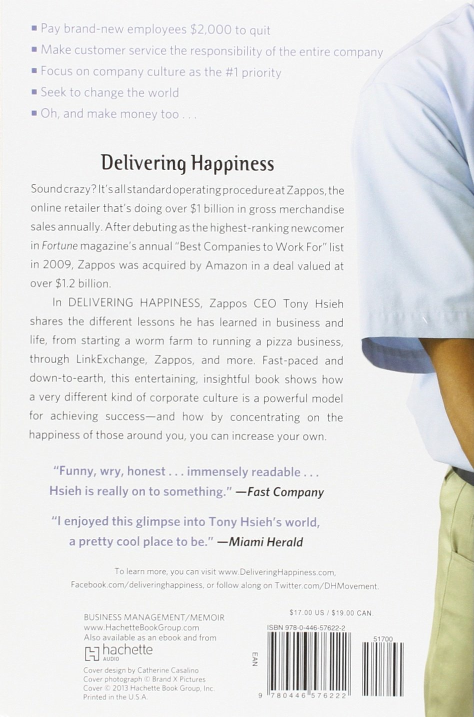 Delivering Happiness: A Path To Profits, Passion, And Purpose: Tony Hsieh:  9780446576222: Amazon: Books