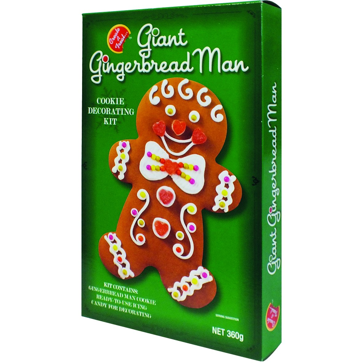 Create A Treat Giant Gingerbread Man Cookie Kit