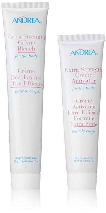 Andrea Extra Strength Cream Bleach for The Body