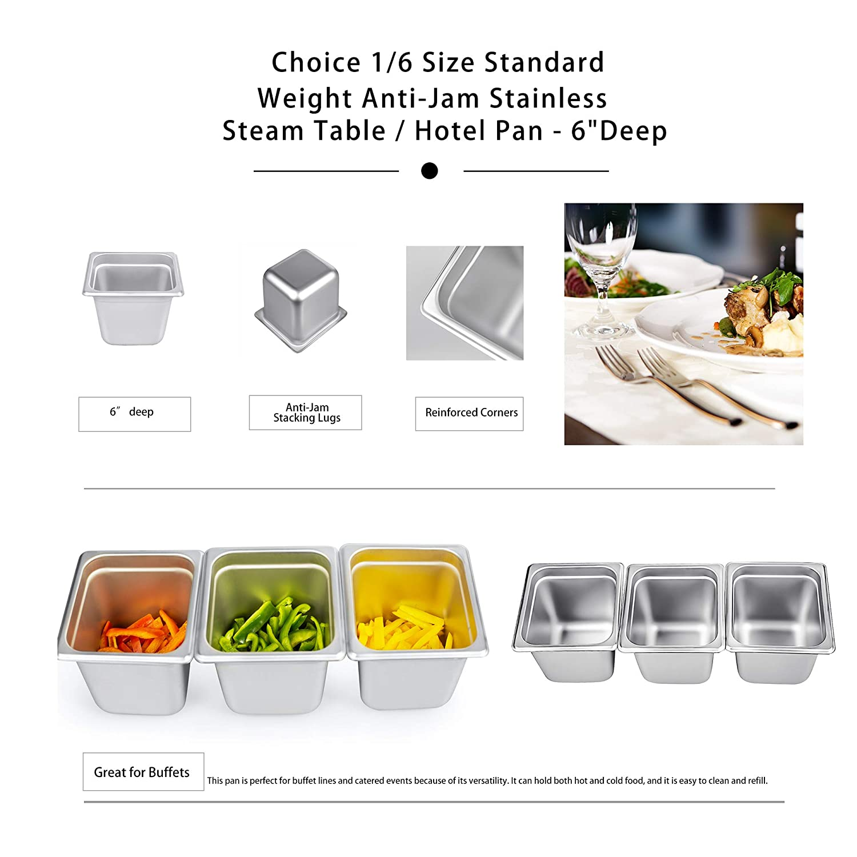Amazon.com: Sartén para mesa de vapor de 5.9 in de ...
