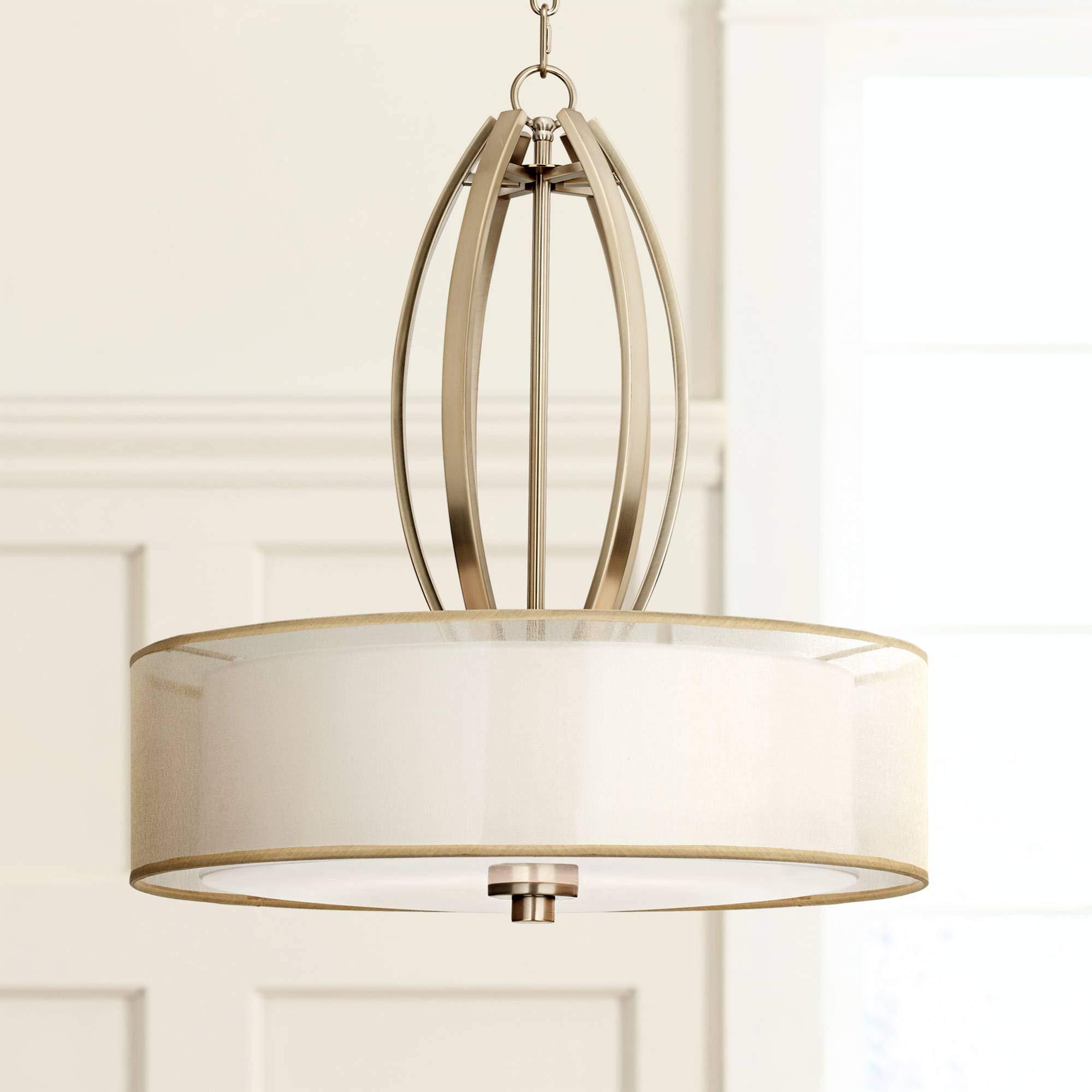 Possini Euro Alecia 22 1/2'' Wide French Gold Pendant Light - Possini Euro Design