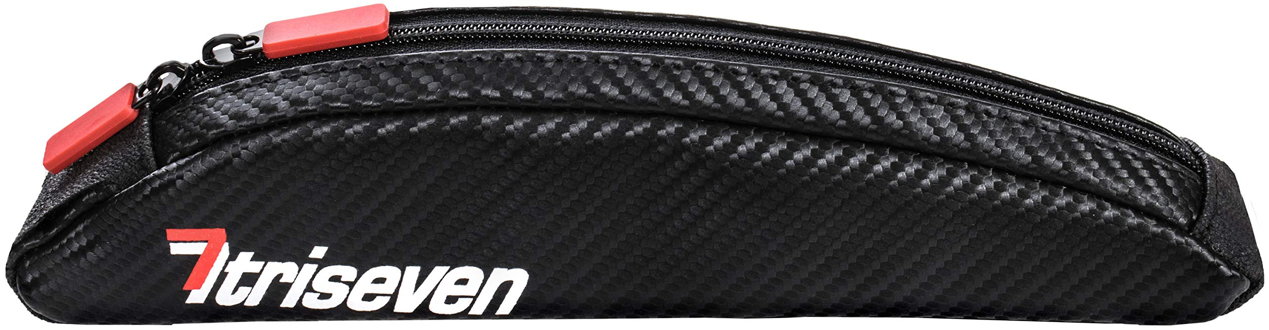 TriSeven Aero Bag 10~top Frame Bag~Carbon Design~Lightweight~Easy Mount~Cycling Bag~Waterproof Material~100%