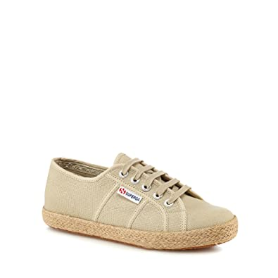 Taupe 'Cotropew' lace up trainers outlet top quality store for sale clearance cost excellent sale online wide range of online kpsyn