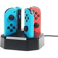 AmazonBasics Charging Station for Nintendo Switch Joy-con Controllers, Black
