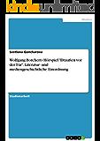 """Wolfgang Borcherts Hörspiel """"Draußen vor der Tür"""". Literatur- und mediengeschichtliche Einordnung"""