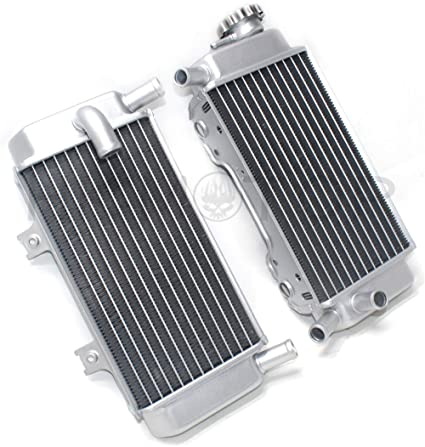 Amazon com: HK- Replacement of 2 Row Aluminum Radiator