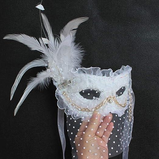 Máscara de Encaje Sexy Veneciana para la Bola de Mascarada Fiesta ...