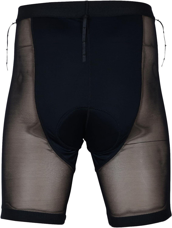 Zimco Pro MTB Mountain Bike Baggy Shorts Padded Undershorts Cycling Short Black