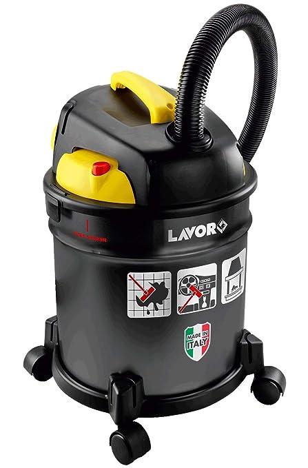 Lavor Freddy Aspiradora De Liquidos 1200 W, 20 litros, 75 Decibeles, Negro/