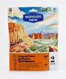 Backpacker's Pantry Stroganoff Sauce with Beef, Two Serving Pouch, (Packaging May Vary)