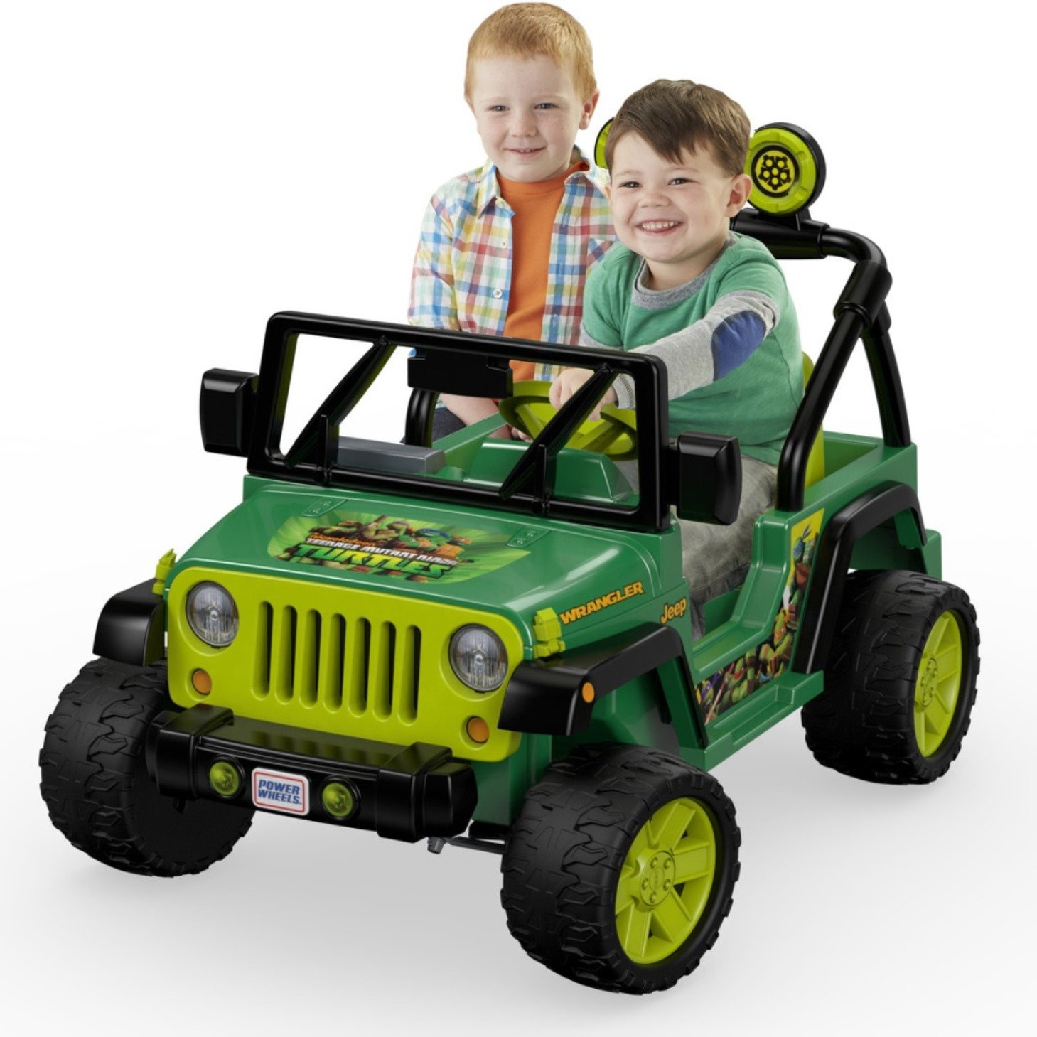 $227.01 (was $399.99) Fisher-Price Power Wheels Nickelodeon Teenage Mutant Ninja Turtles Jeep Wrangler