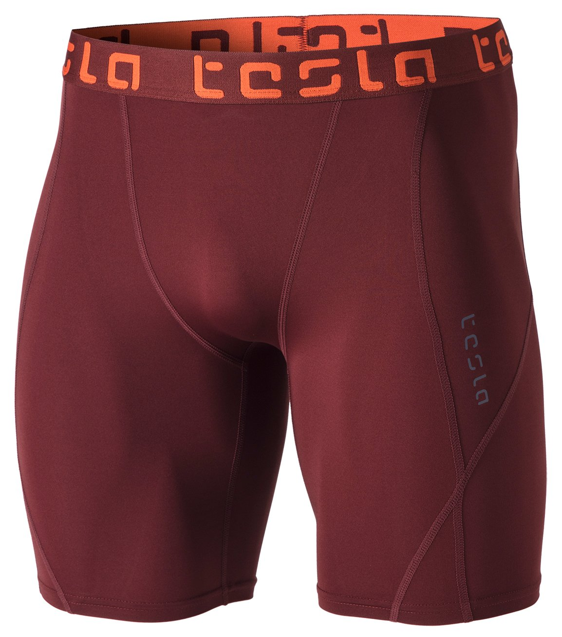 TSLA TM-MUS17-BCK_Small Men's Compression Shorts