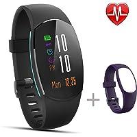 Fitness Tracker IP67 Impermeabile Smartwatch Schermo a Colori Sport Bracciale con Sonno Monitoraggio Pedometro, Call & SNS Vibrazione Wearable Activity Tracker per iOS iPhone Android Cellulari