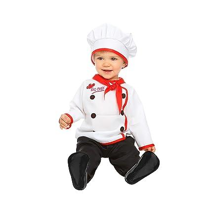 My Other Me Me-204969 Disfraz de bebé cocinero, 7-12 meses (Viving Costumes 204969