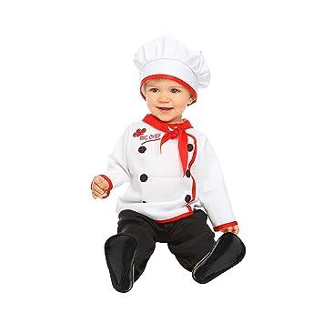 My Other Me Me-204969 Disfraz de bebé cocinero, 7-12 meses (Viving ...