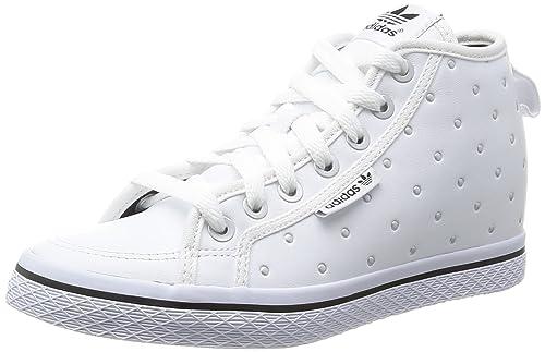 adidas Honey UP W Weiss Leder Damen Sneakers Schuhe Neu