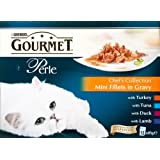 Gourmet Perle Chef's Collection Mini Fillets in Gravy Pouches - 1 x 12 x 85gm