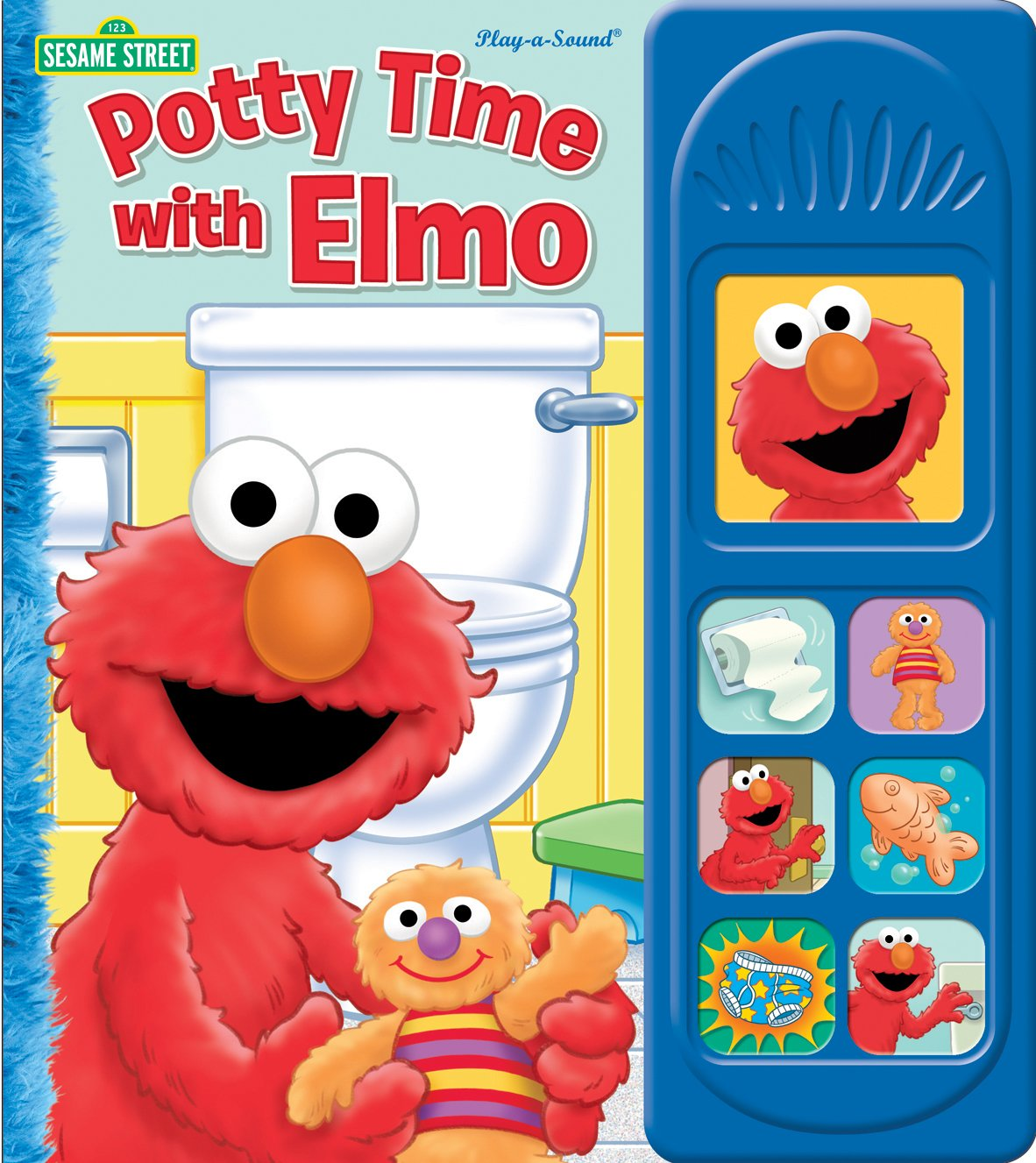Sesame street potty time with elmo 1 2 3 sesame street editors of publications international 9781450813532 amazon com books