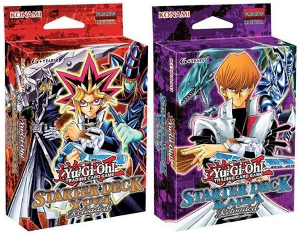 Buengna Yu-Gi-Oh Starter Deck Yugi & Kaiba Reloaded Set of 2 Sealed by: Amazon.es: Juguetes y juegos