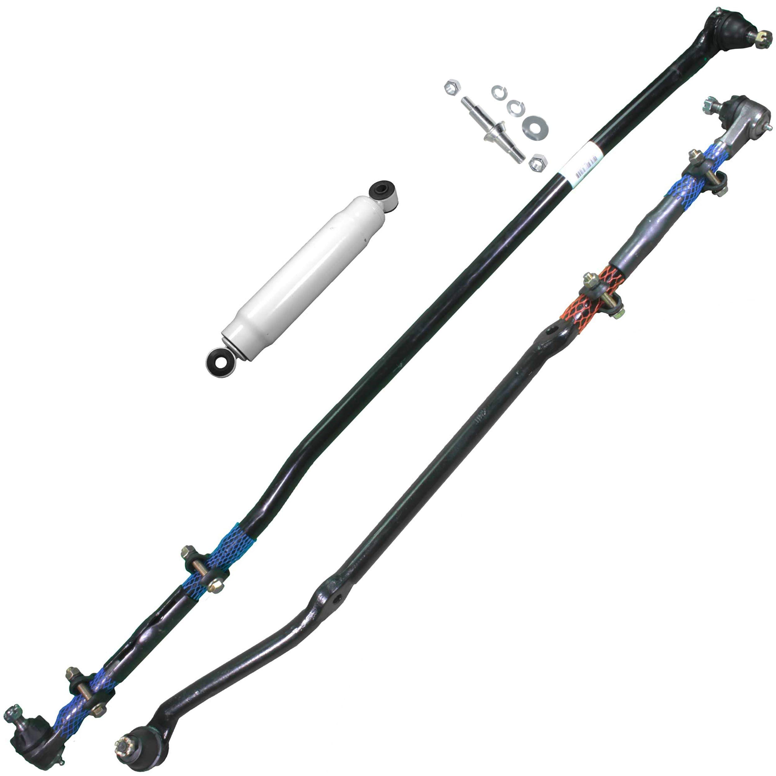 Apdty 108946 Tie Rod Drag Link Steering Stabilizer Hd Heavy Duty Upgrade 1997 2006 Jeep Wrangler 91 01 Cherokee 1991 1992 Comanche 93 98 Grand