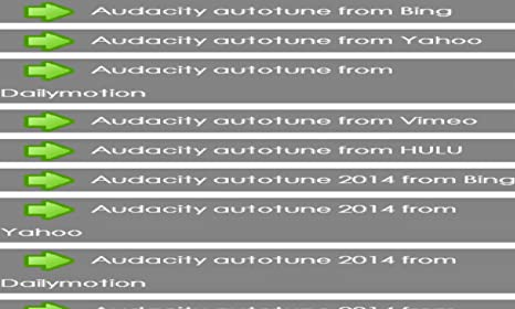 Autotune Audacity