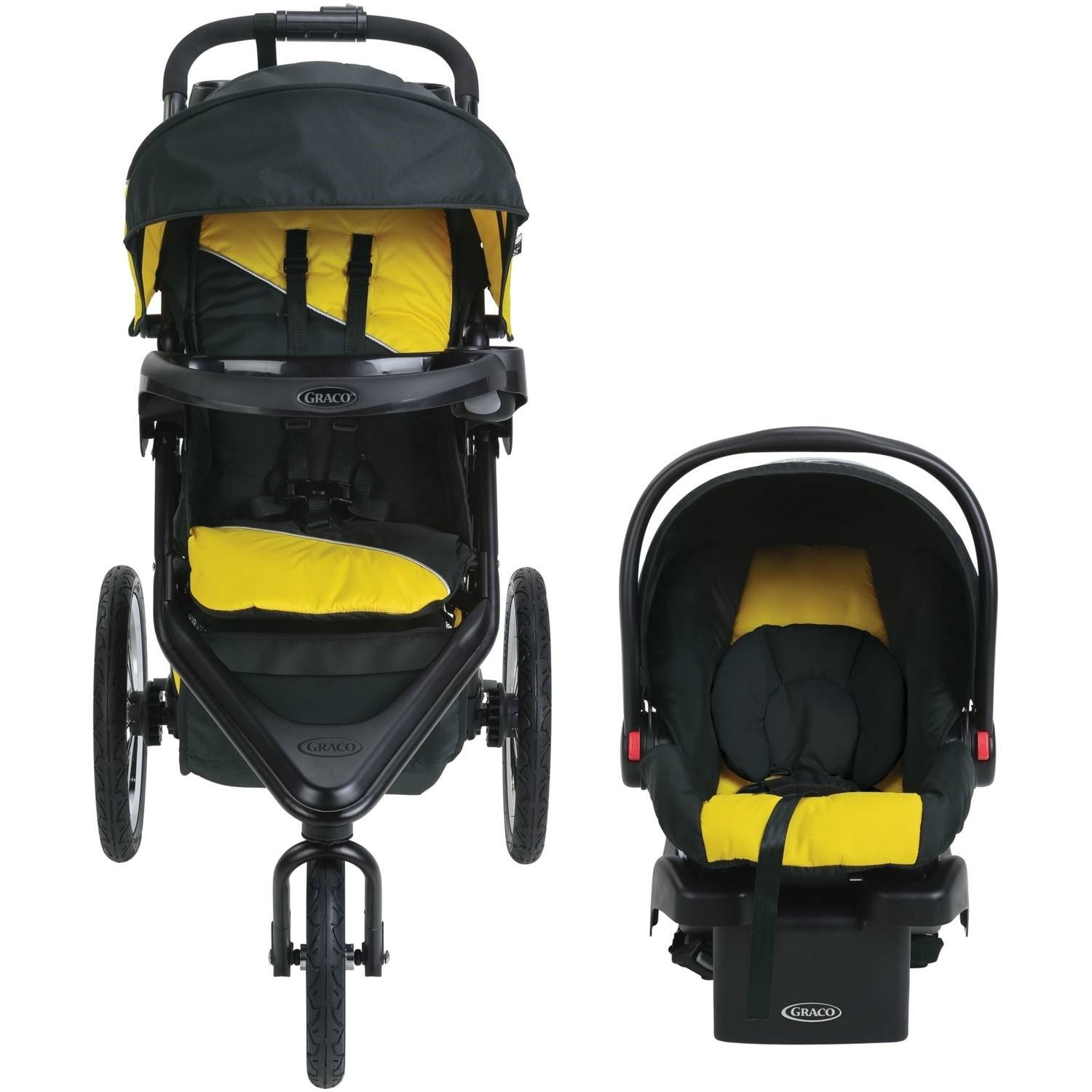 Graco Trax Click Connect Jogger Travel System by Graco (Image #2)