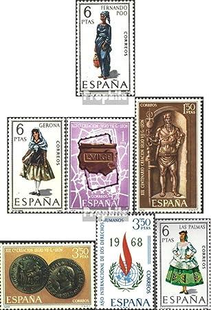 Prophila Collection España Michel.-No..: 1758,1759,1760-1762, 1763,1764 (Completa.edición.) 1968 Sellos Especiales (Sellos para los coleccionistas) Uniformes / Trajes: Amazon.es: Juguetes y juegos