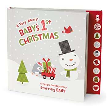 Amazon.com : Hallmark's A Very Merry Baby's First Christmas ...
