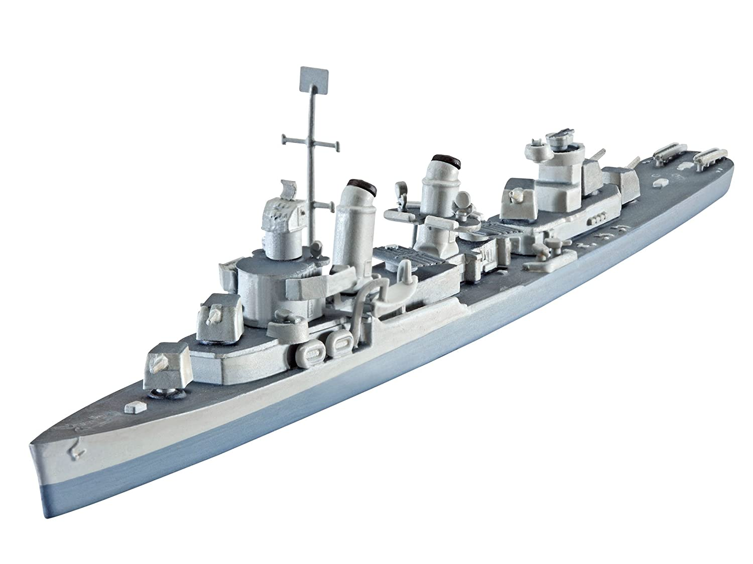 Revell U.S.S.Fletcher DD-445 1:700 Naval Ship Assembly Kit ...