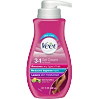 Hair Removal Cream – VEET Silk and Fresh Technology Legs & Body Gel Cream Hair Remover, Sensitive Formula with Aloe Vera…