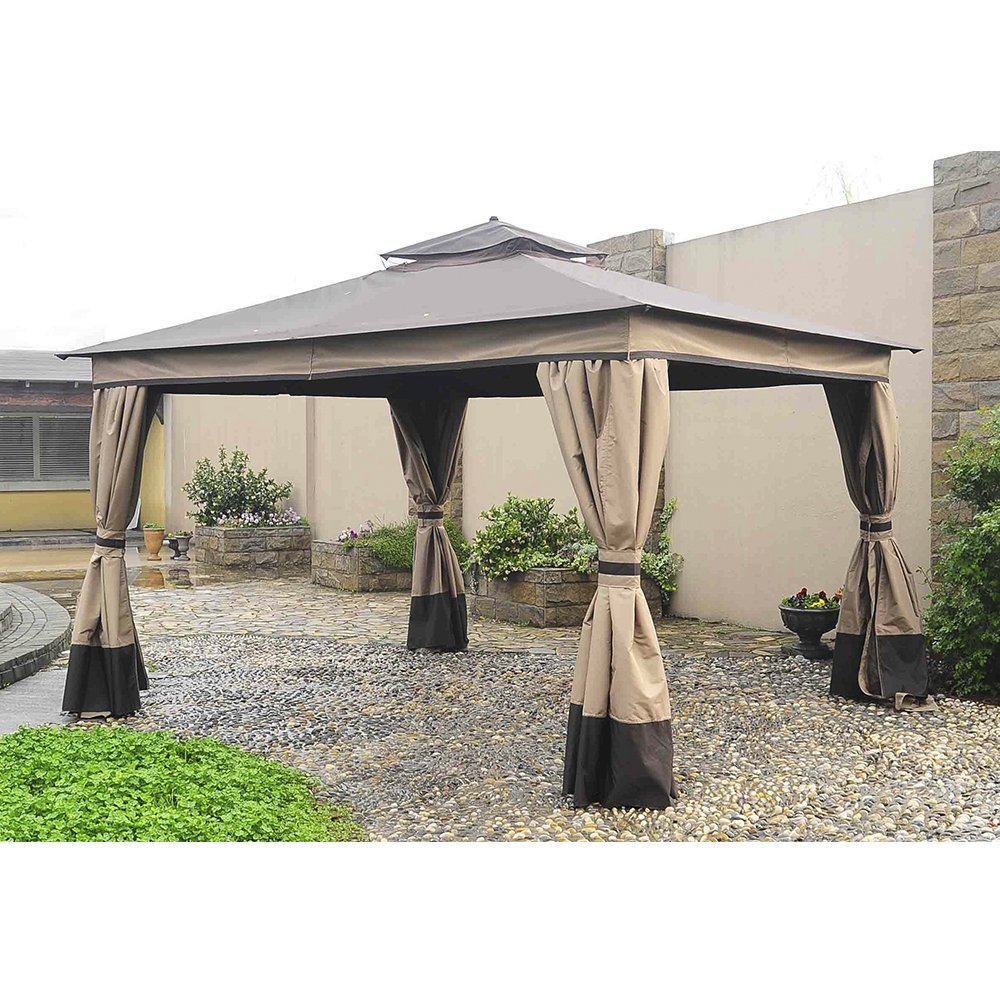 Sunjoy Replacement Mosquito Netting for 10x12ft Courtyard Gazebo 110109282