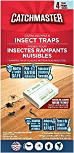 Catchmaster Spider & Insect Glue Trap - 4 Professional Strength Traps per Package