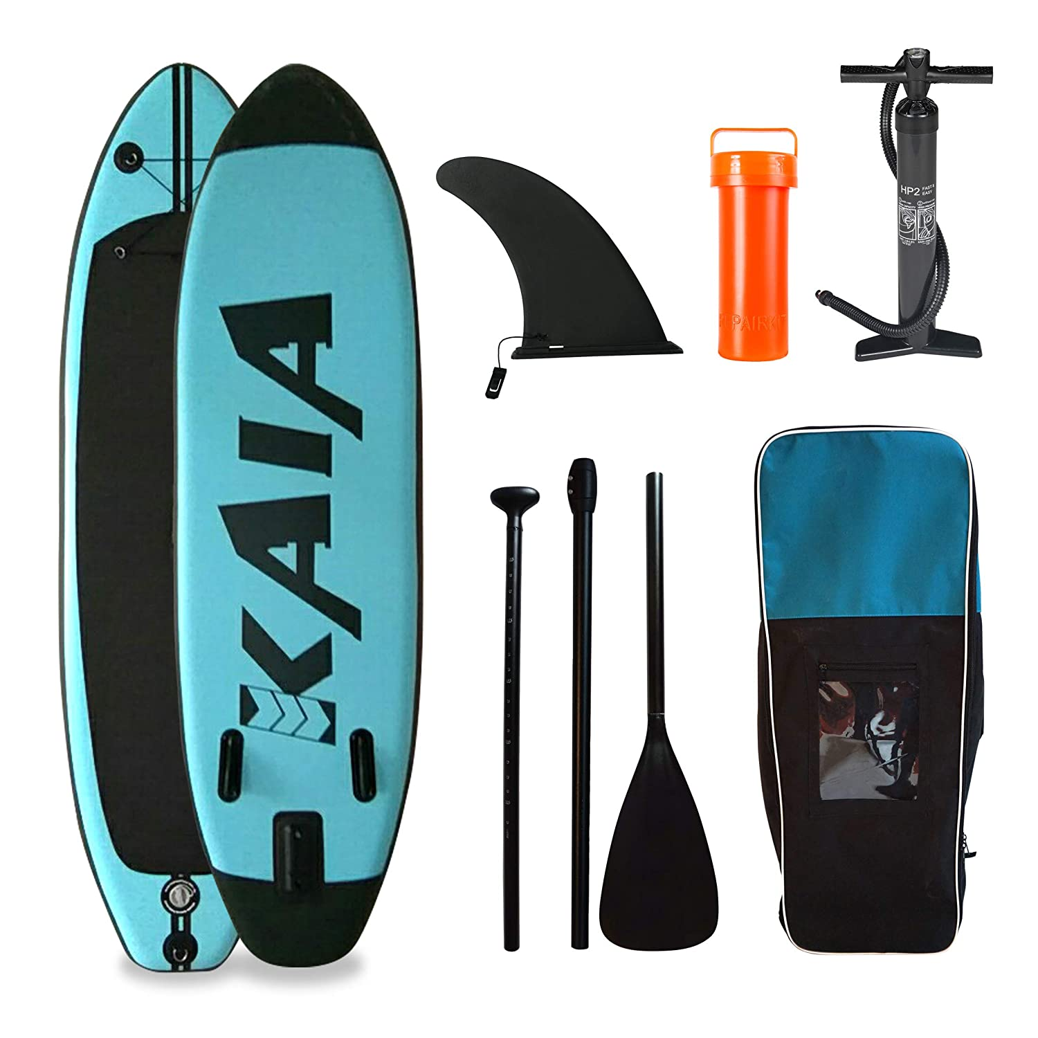 KAIA Pack Stand Up Paddle Hinchable 90: Amazon.es: Deportes y ...