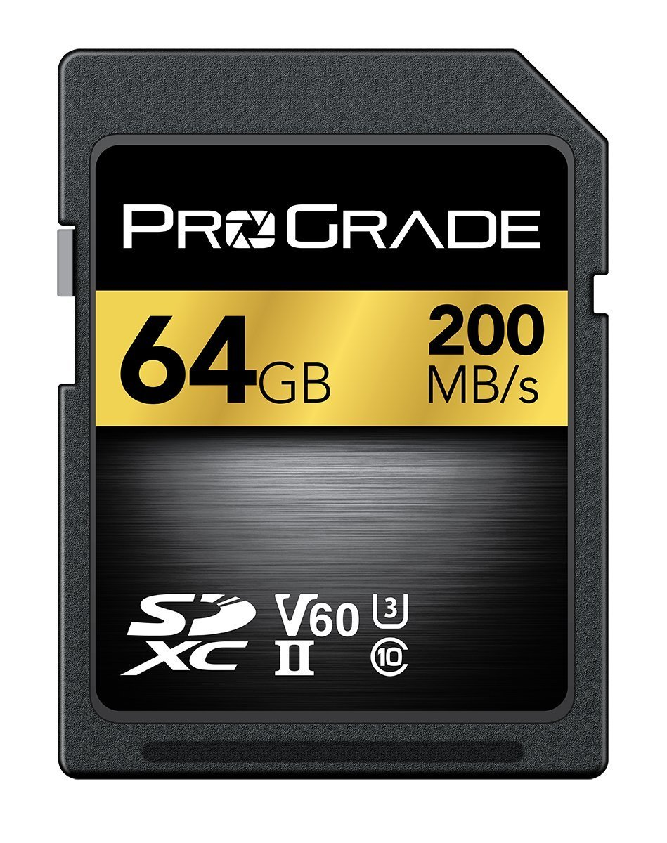 ProGrade Digital SDXC UHS-II Memory Card (64GB) by ProGrade Digital Incorporated