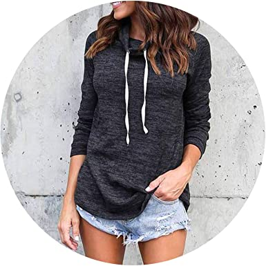 2018 New Women Hoodies Casual Long Sleeve Round Neck Hoodies Sweatshirt Pullover Sudaderas Mujer,Black