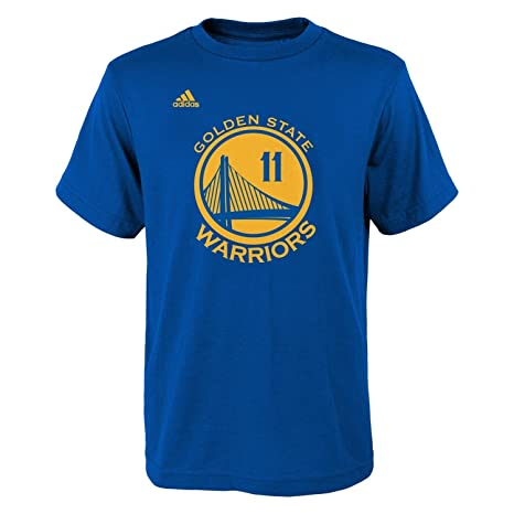 sports shoes 36110 e1d54 adidas Klay Thompson Golden State Warriors Toddler Blue Jersey Name and  Number T-Shirt