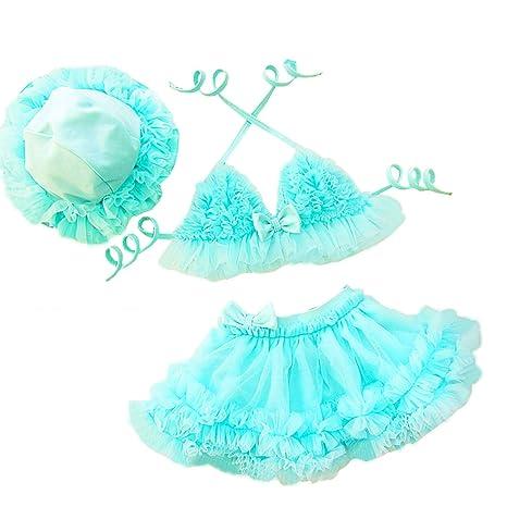Amazon.com: taiycyxgan bebé niñas traje de baño bañadores de ...