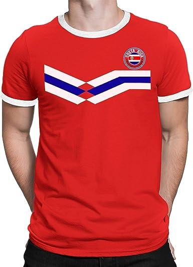 Tee Spirit Costa Rica Camiseta Para Hombre World Cup 2018 Fútbol ...