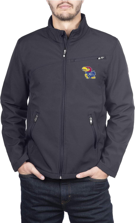 Spyder Mens Transport Full Zip Soft Shell Gameday Jacket