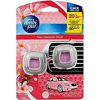 AmbiPur Car Mini Clip Air Freshener Completely Eliminates Odours - Thai Dragon Fruit