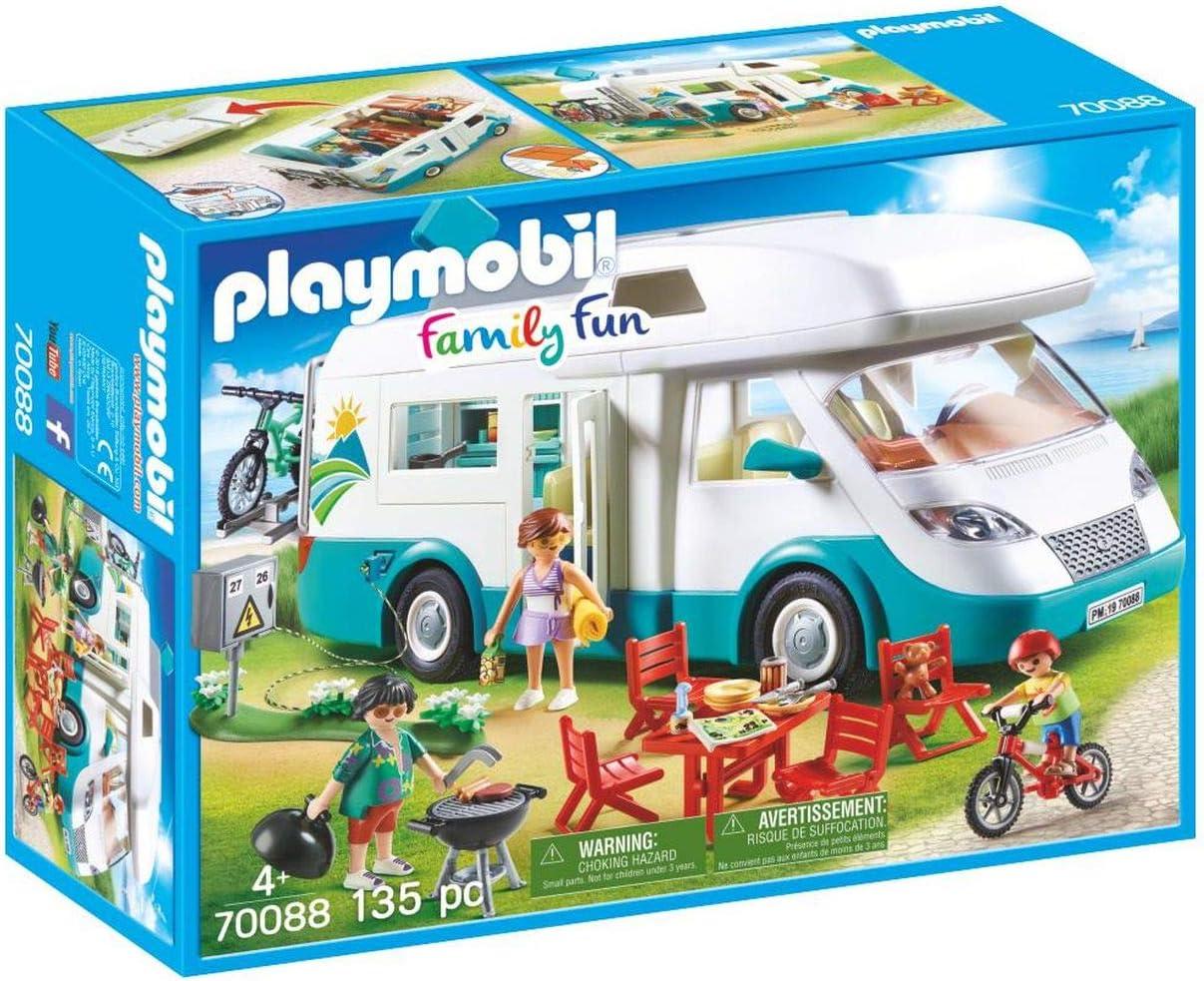 PLAYMOBIL Family Fun Caravana de Verano, A partir de 4 años (70088)