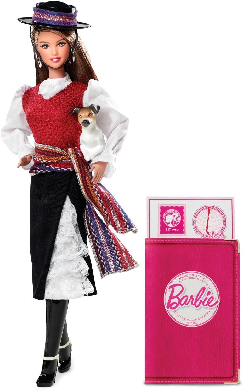 Amazon.es: Barbie - Muñecas del Mundo: Chile (Mattel W3494 ...