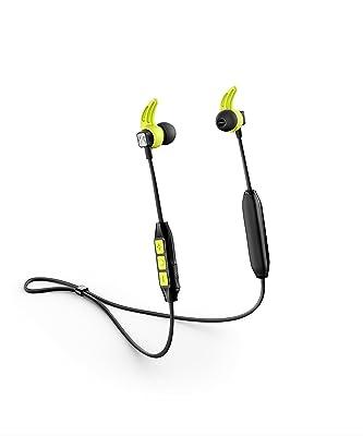Sennheiser CX Sport - Auricular Instáurales inalámbrico para Deportes, Color Negro y Azul