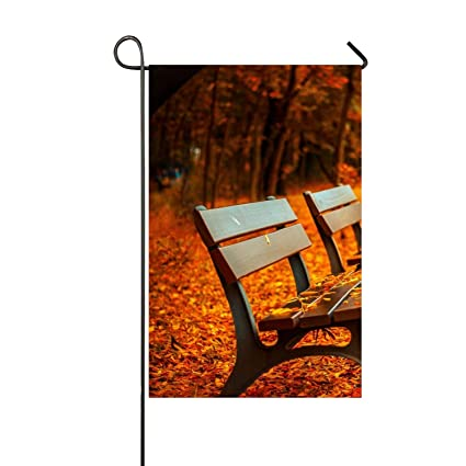 Superb Amazon Com Nydia Morrison Park Bench Garden Flag Holiday Short Links Chair Design For Home Short Linksinfo