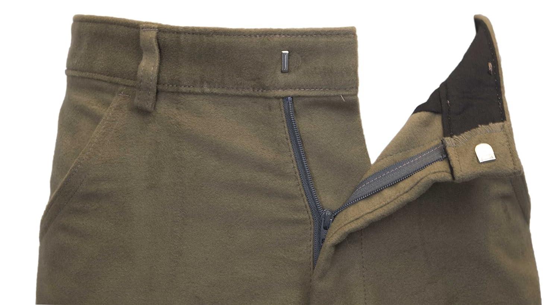 Walker /& Hawkes Pantalon Classique pour Homme Moleskine 100/% Coton