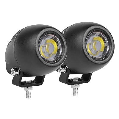 DJI 4X4 2Pcs 2.7 Inch 50W LED Driving Lights LED Pods Round LED Work Light Spot Light Motorcycle Driving Lights Small Fog Lights for Trucks Jeep Off Road SUV ATV UTV Boat: Automotive
