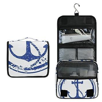 Waterproof Travel Toiletry Bag Bathroom Shower Bags with Hanging Hook Men Women