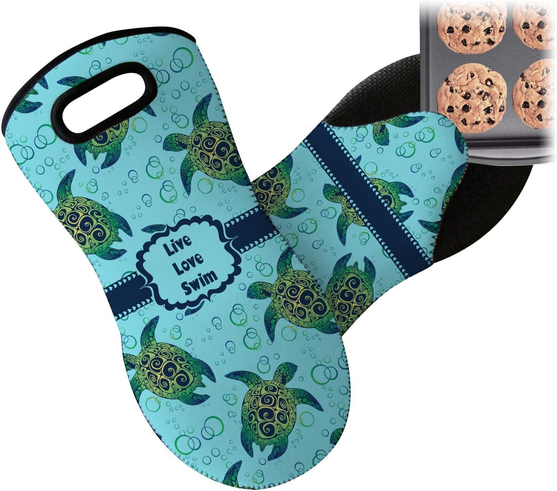 RNK Shops Sea Turtles Neoprene Oven Mitt (Personalized)