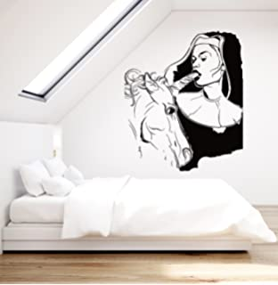 Wall Stickers Vinyl Decal Sexy Decor Girl Teen With Unicorn Sexiest Ever Z2212i